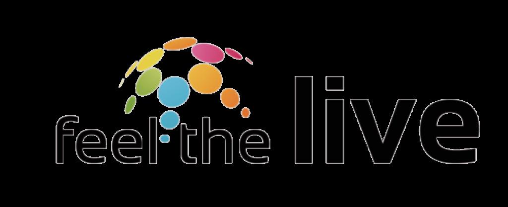 feel the live logo
